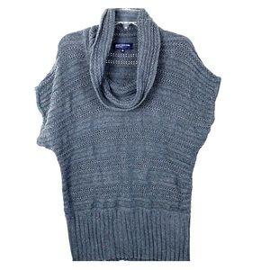 Jones New York Signature Cowl Neck Knit Sweater Lg